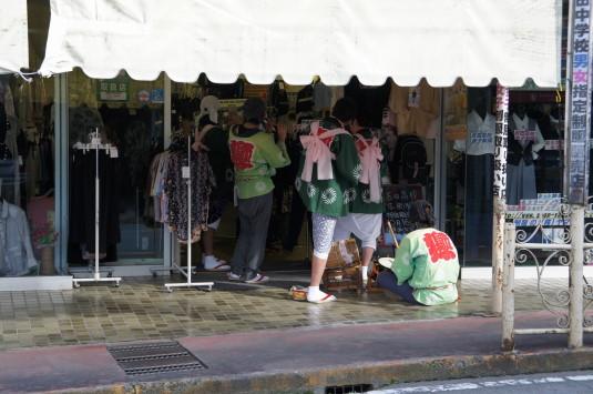 小室浅間神社 宵祭り 商売繁盛