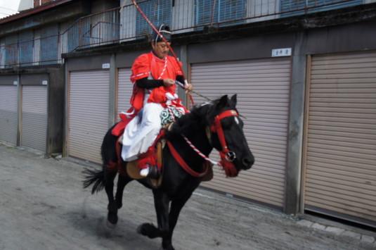 小室浅間神社 流鏑馬祭り やぶさめ夕馬