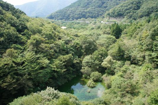 富士六湖 赤池 赤池精進湖方面