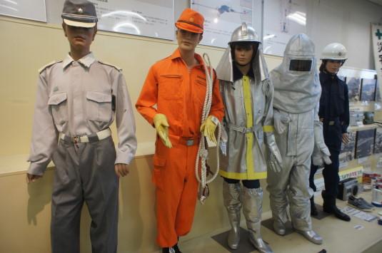 防災安全センター 防護服