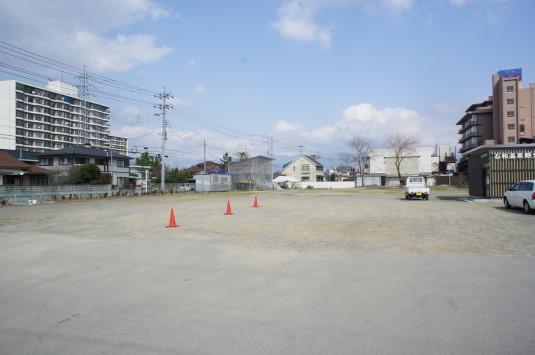 桜 さくら温泉通り 駐車場