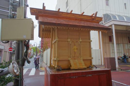 キティ神社その後 神社