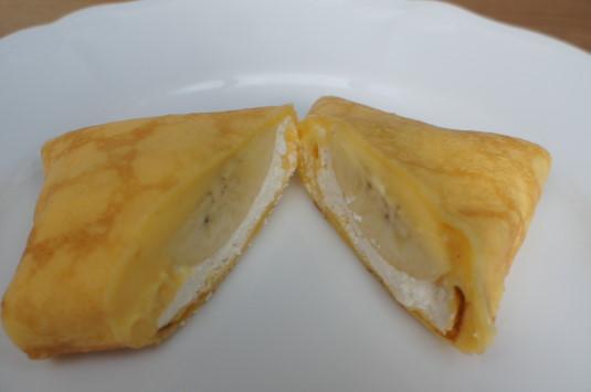 四角いクレープ アピロン バナナ