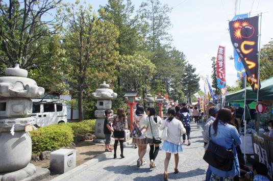 正ノ木祭り 北入口
