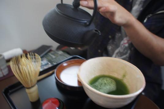 お茶喫茶店 fu-cha お湯