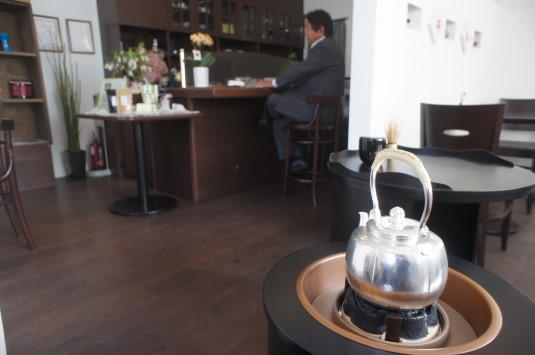 お茶喫茶店 fu-cha 店内