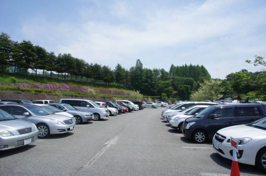 バラ ハイジの村 駐車場