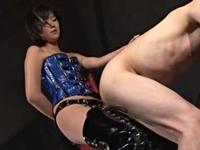 【M男】 ボンデージアイドル女王様のぺ二バン逆アナル調教