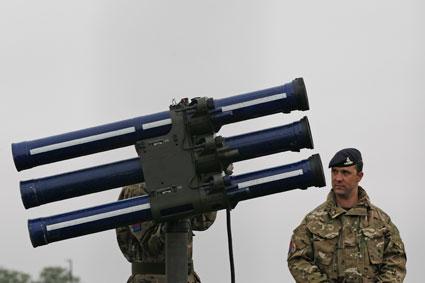 地対空ミサイル