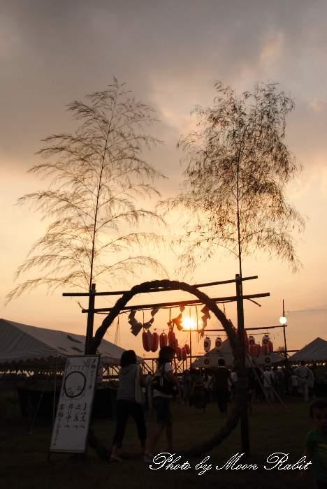 茅の輪くぐり 愛媛県西条市 伊曽乃神社夏越祭