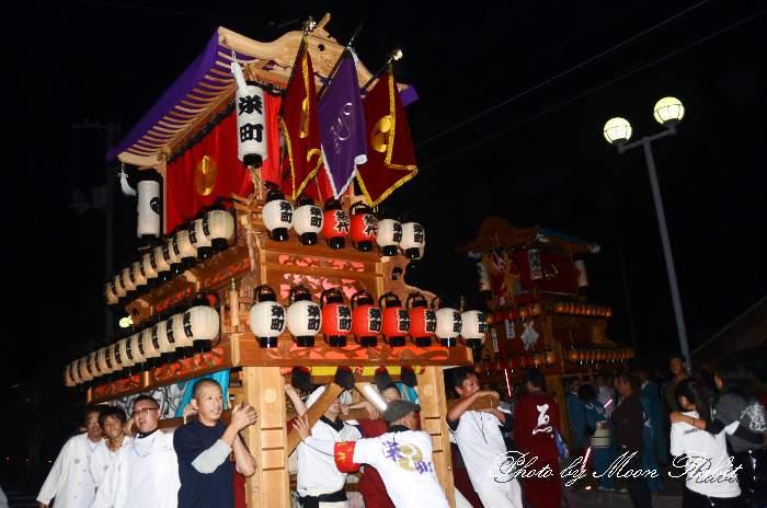 栄町だんじり(栄町屋台) 東予祭り前夜祭