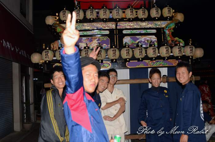 明理川だんじり(明理川屋台) 東予祭り前夜祭