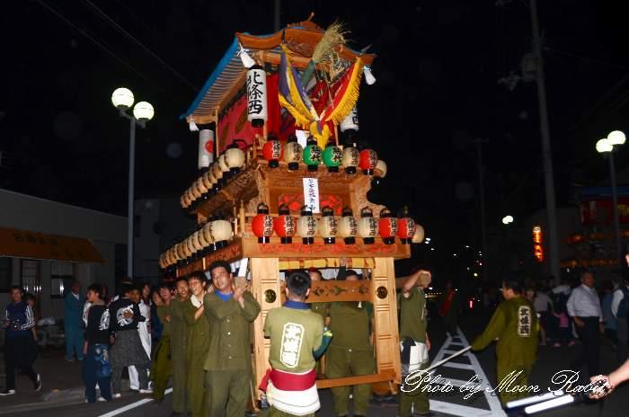 北條西だんじり(北条西屋台) 東予祭り前夜祭