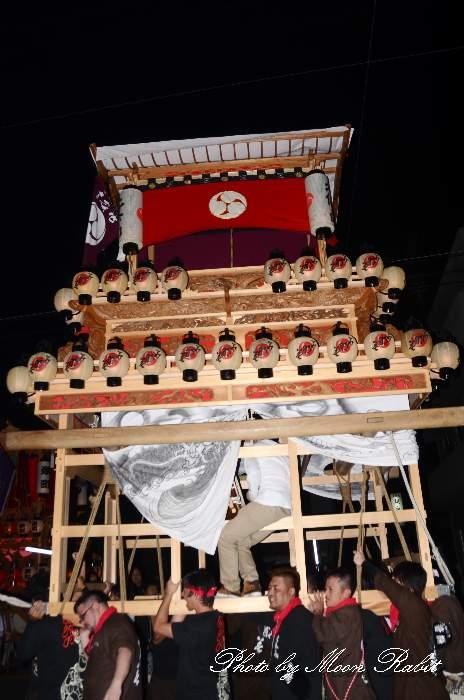 北條南だんじり(北条南屋台) 東予祭り前夜祭