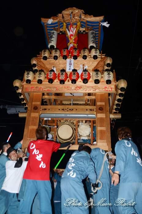 親善会だんじり(屋台) 東予祭り前夜祭