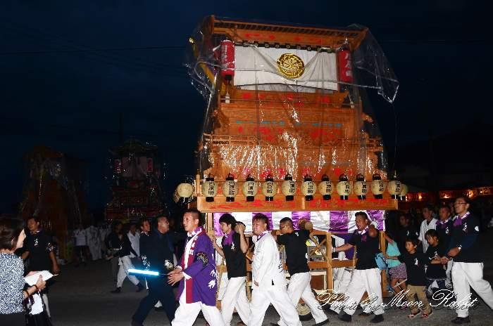 楢本神社祭礼 川原町屋台(だんじり) 西条祭り2014 愛媛県西条市