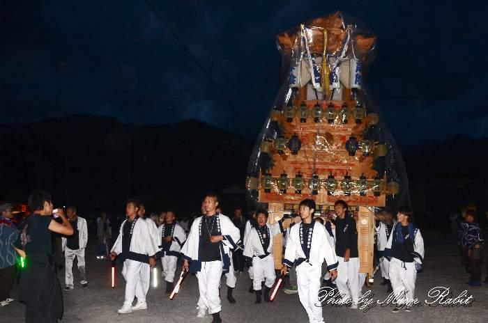 楢本神社祭礼 岸陰屋台(岸陰だんじり) 西条祭り2014 愛媛県西条市