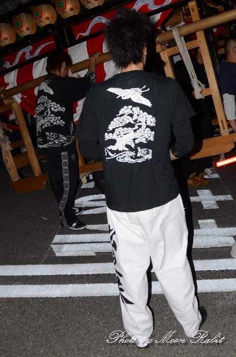 松之巷屋台(松之巷だんじり) 祭り装束 西条祭り 伊曽乃神社祭礼 愛媛県西条市