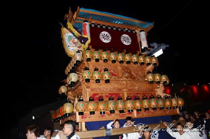 フジグラン西条 下前前夜祭 常盤巷屋台(常盤巷だんじり) 西条祭り2014 愛媛県西条市