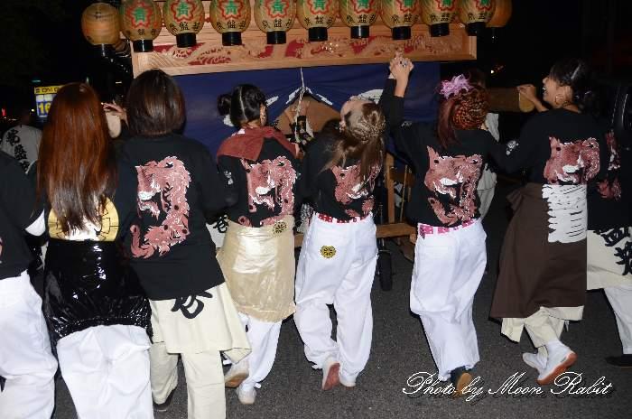 常盤巷だんじり(屋台) 祭り装束 西条祭り 伊曽乃神社祭礼