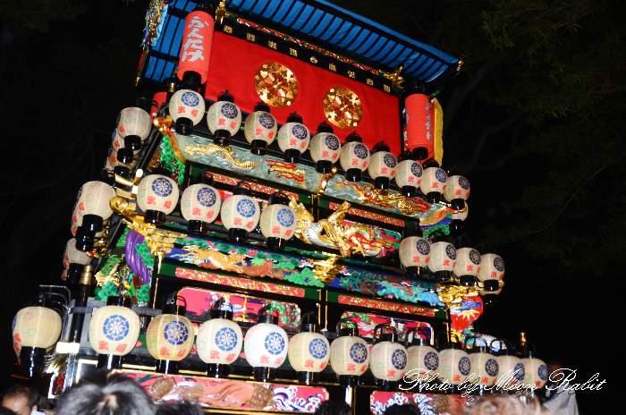 祭り提灯 天皇屋台(天皇だんじり) 西条祭り 伊曽乃神社祭礼 愛媛県西条市