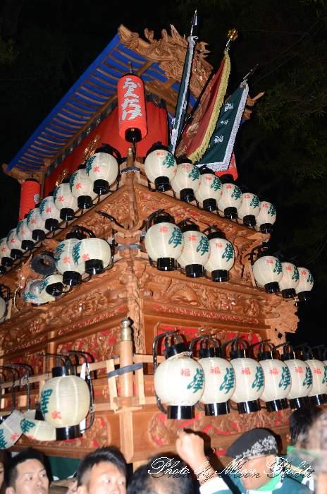 澤だんじり(沢屋台) 伊曽乃神社祭礼 宮出し 西条祭り2014 愛媛県西条市