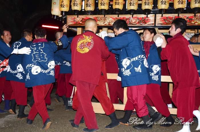 中之段だんじり(中の段屋台) 祭り装束 西条祭り 伊曽乃神社祭礼 愛媛県西条市