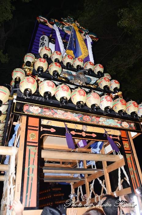 宮出し 東原屋台(東原だんじり) 伊曽乃神社祭礼 西条祭り2014 愛媛県西条市