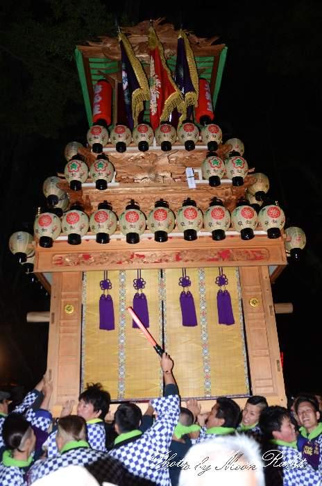 宮出し 安知生屋台(安知生だんじり) 伊曽乃神社祭礼 西条祭り2014 愛媛県西条市