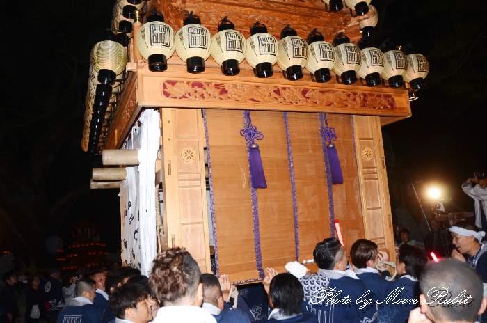 伊曽乃神社祭礼 宮出し 洲之内屋台(洲の内だんじり) 西条祭り2014 愛媛県西条市