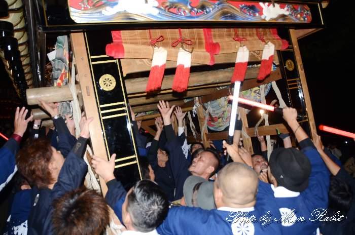 伊曽乃神社祭礼 宮出し 西条祭り2014 愛媛県西条市