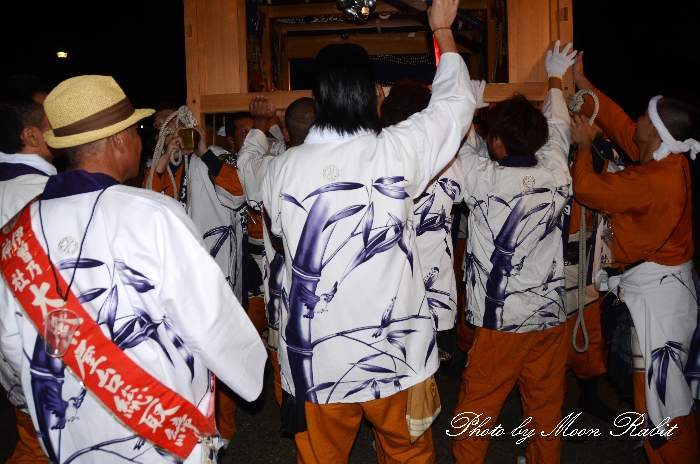 薮乃内屋台(薮之内だんじり) 祭り装束 西条祭り