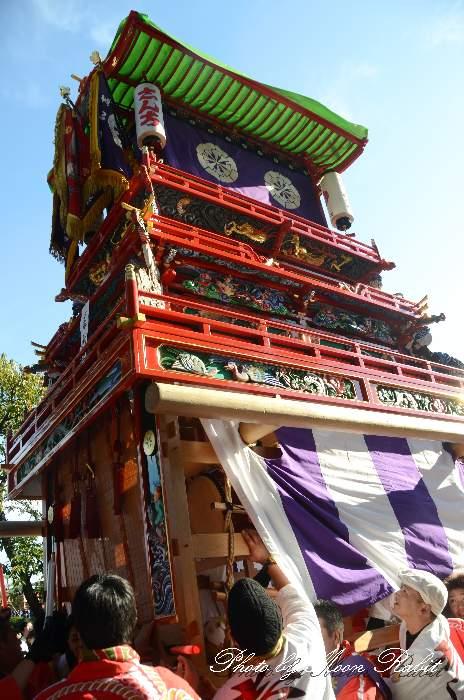 伊曽乃神社祭礼 御殿前 新地屋台(新地だんじり) 西条祭り2014 愛媛県西条市