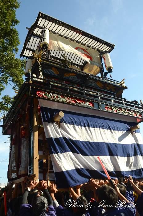 紺屋町屋台(紺屋町だんじり) ご殿前 伊曽乃神社祭礼 西条祭り2014 愛媛県西条市