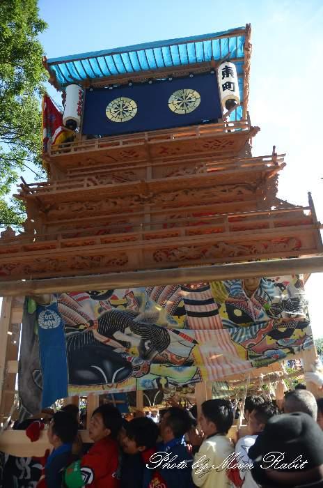 東町屋台(東町だんじり) ご殿前 伊曽乃神社祭礼 西条祭り2014 愛媛県西条市