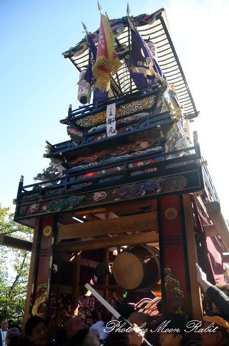 船元町屋台(船元町だんじり) ご殿前 伊曽乃神社祭礼 西条祭り2014 愛媛県西条市