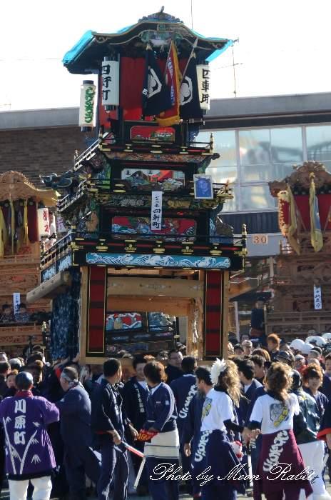 四軒町屋台(四軒町だんじり) ご殿前 伊曽乃神社祭礼 西条祭り2014 愛媛県西条市
