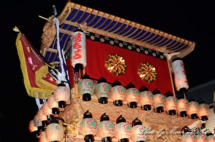 祭り提灯 八丁屋台(八丁だんじり) 西条祭り 伊曽乃神社祭礼 愛媛県西条市