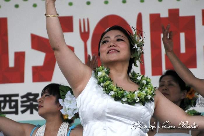 プアロケ フラダンス 西条市合併10周年記念パフォーマンスLIVE 愛媛県西条市周布