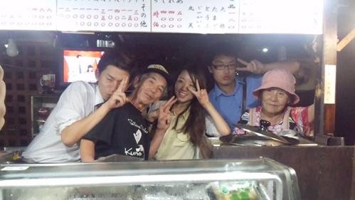 韓国からの青年達