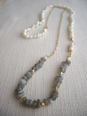 2way long necklace