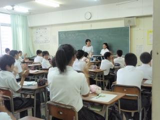 松虫中学校2012