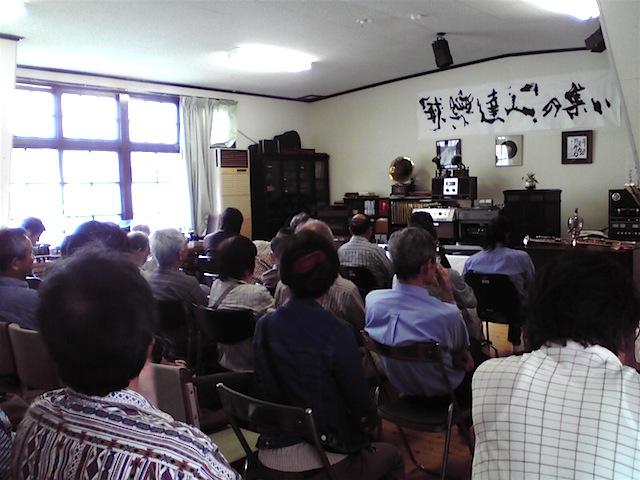 広島県庄原市口和町郷土資料館でコンサート2
