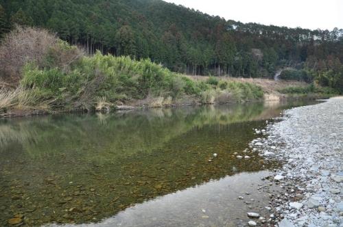 4天満宮前キャンプ場14.01.21