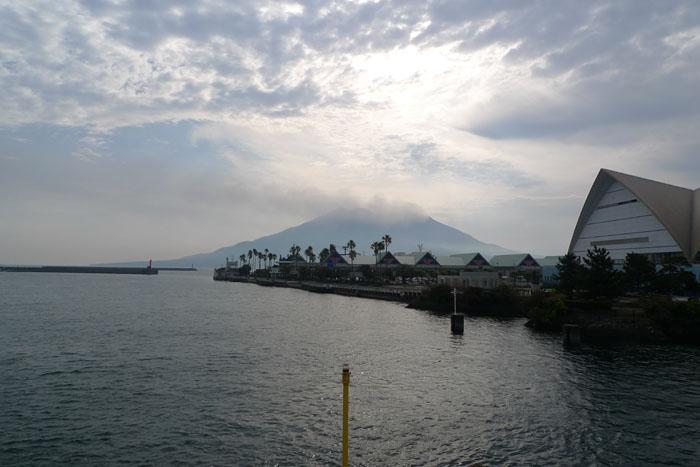 桜島フェリー 鹿児島港 2