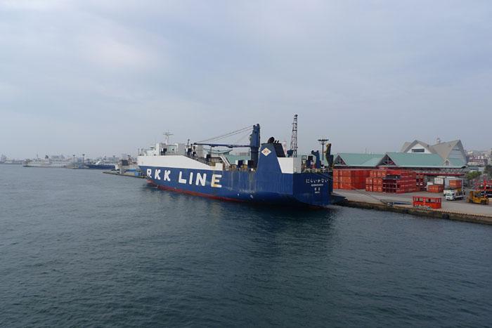 桜島フェリー 鹿児島港 1