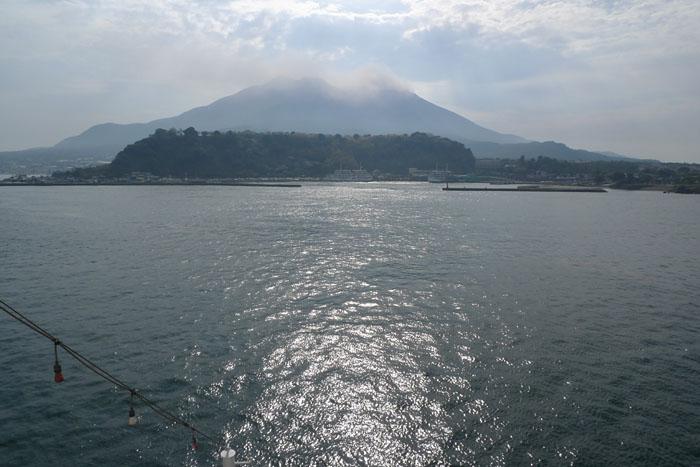 桜島フェリー 鹿児島港 ~ 桜島港 6