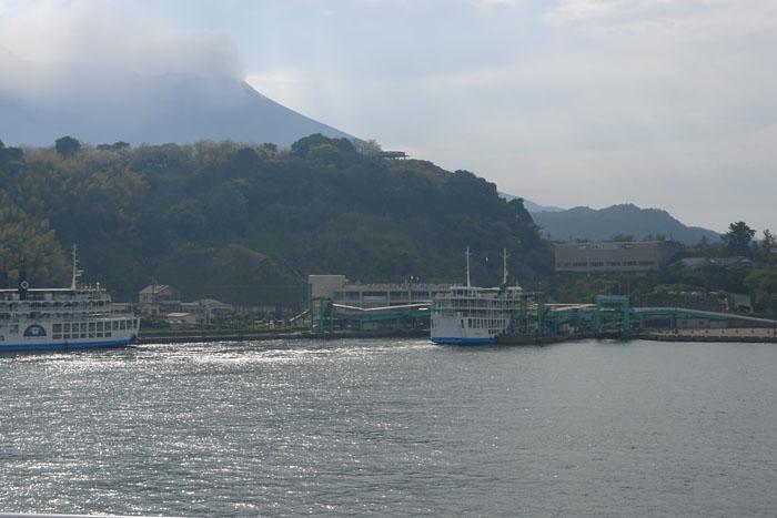 桜島フェリー 鹿児島港 ~ 桜島港 4