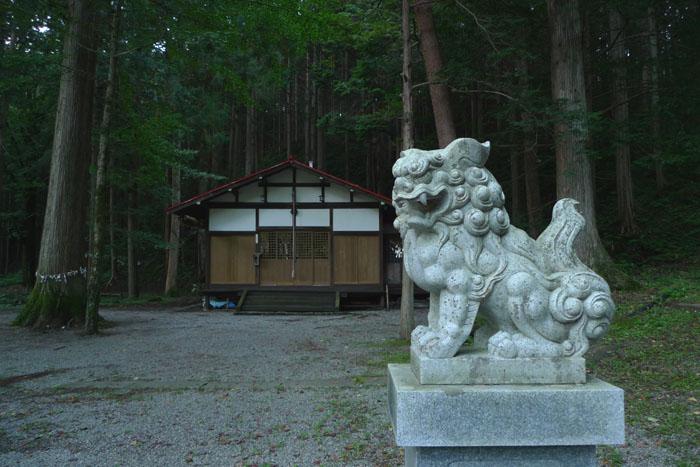 奥飛騨温泉郷 中尾 白山神社 5