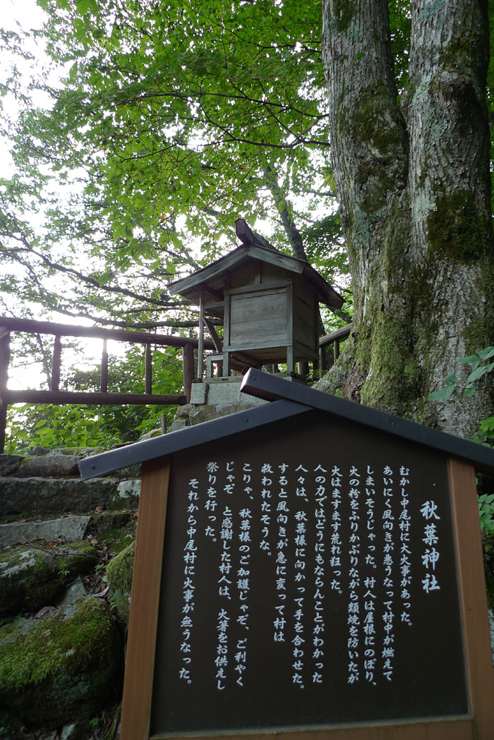 奥飛騨温泉郷 中尾 白山神社 4
